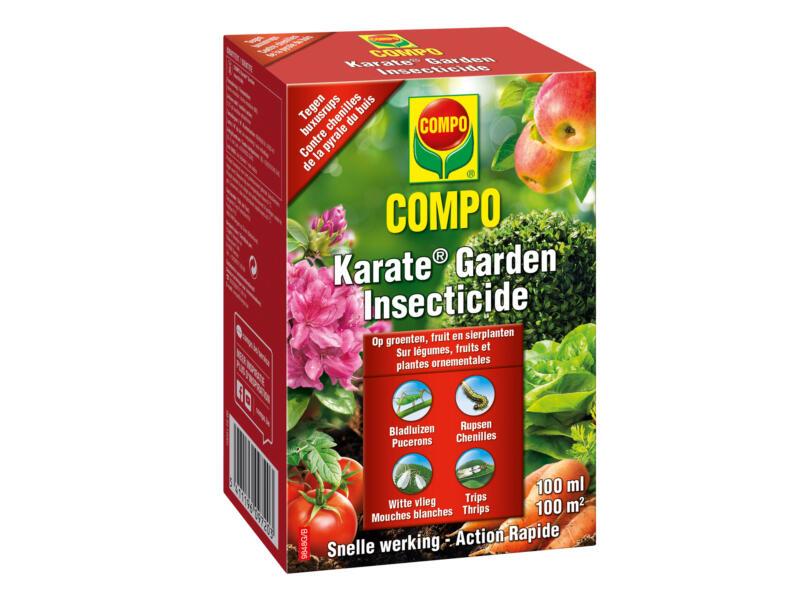 Compo Karate Garden insecticide insectes suceurs & voraces 100 ml