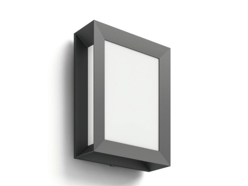 Philips Karp applique murale extérieure LED 6W anthracite