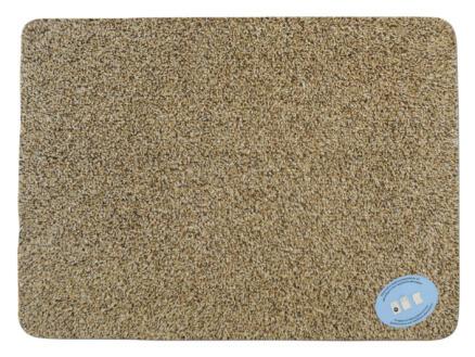 Katoenmat 70x125 cm beige