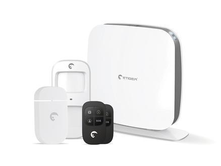eTiger Kit d'alarme sans fil ESB-WS2A WIFI/GSM