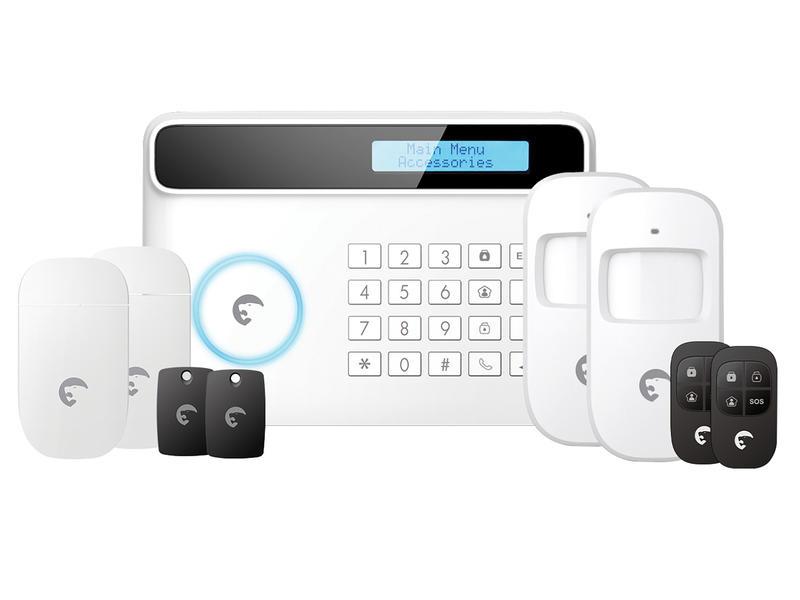 eTiger Kit d'alarme sans fil avec communication GSM S4