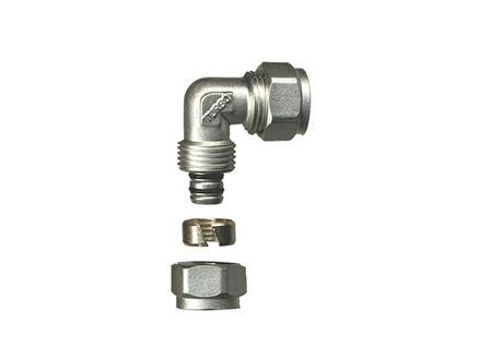 Saninstal Knie knelkoppeling 90° 20mm