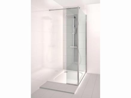 Allibert Kobana paroi de douche 100x195 cm fixe avec paroi latérale 30cm