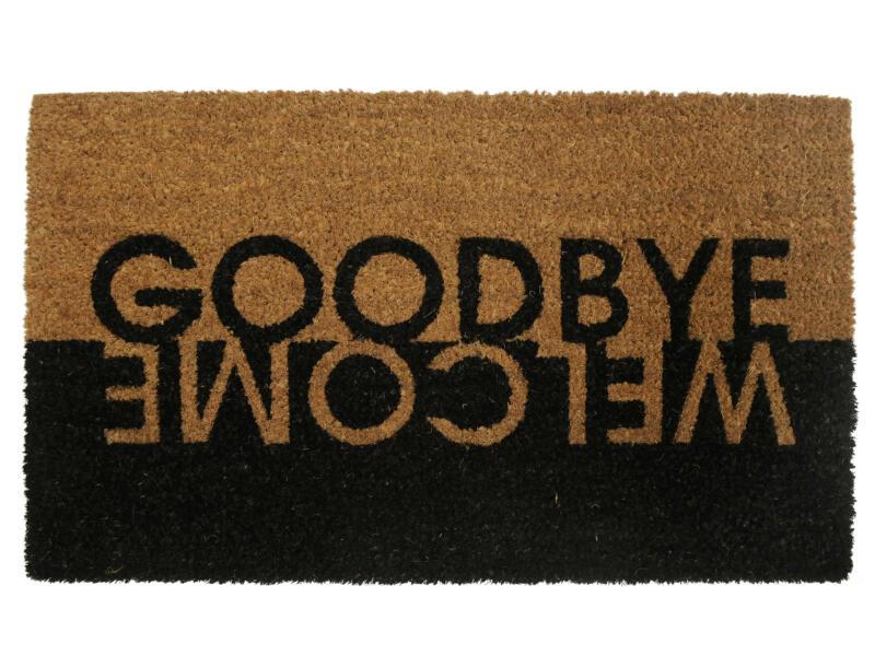 Kokosmat welcome/goodbye 45x75 cm