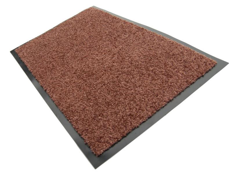 Kristal paillasson 60x40 cm brun
