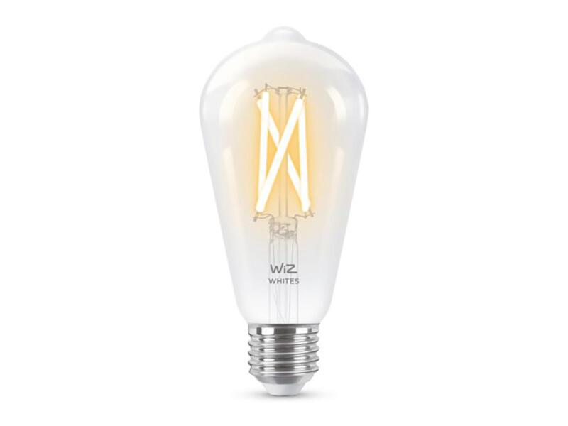 Wiz LED Edison-lamp filament E27 8W dimbaar