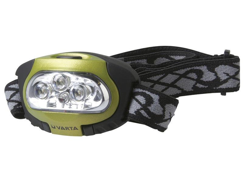 Varta LED Power hoofdlamp 4 leds