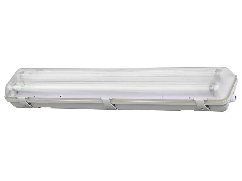 Profile LED TL-armatuur T8 HWD G13 2x18W koud wit waterdicht