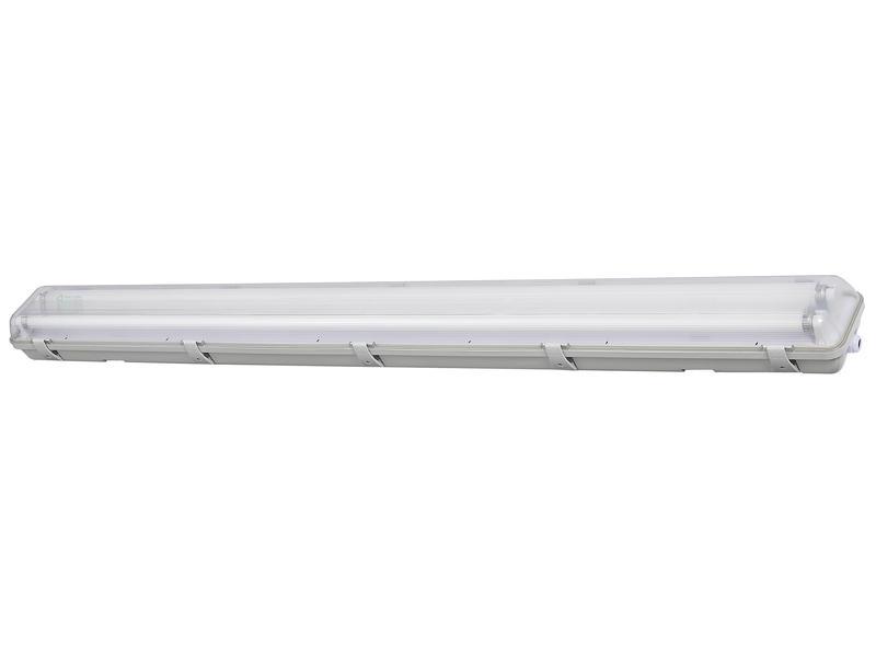 Profile LED TL-armatuur T8 HWD G13 2x24W koud wit waterdicht