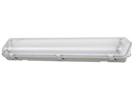 Profile LED TL-armatuur T8 HWD G13 2x9W koud wit