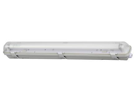 Profile LED TL-armatuur T8 HWD G13 9W koud wit waterdicht