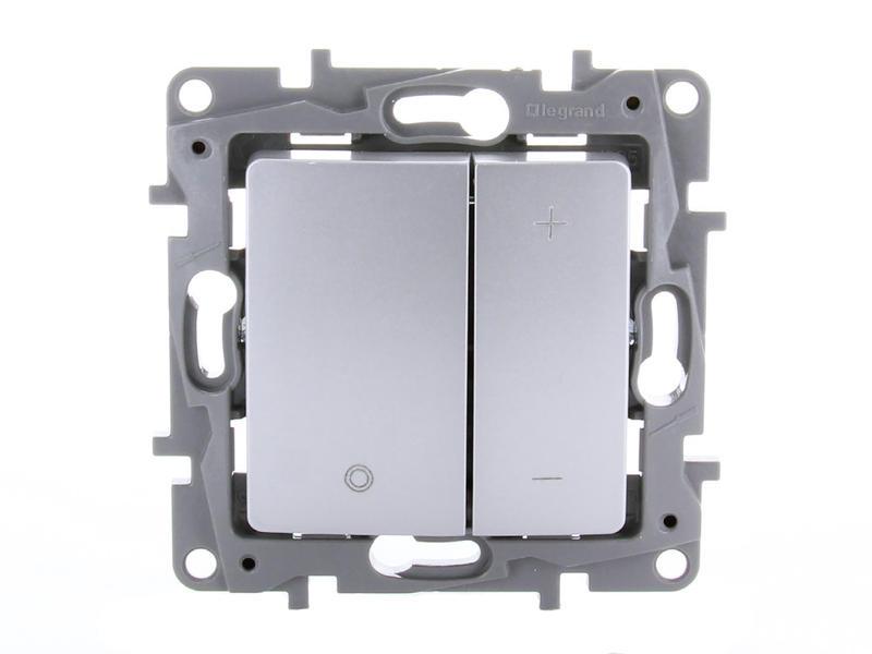 Legrand LED dimmer Niloé 3-400 W aluminium