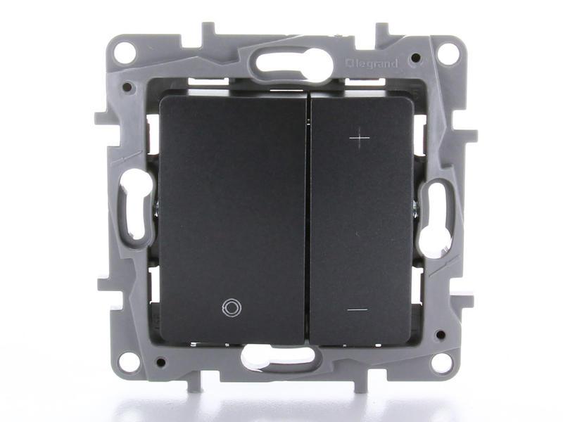 Legrand LED dimmer Niloé 3-400 W antraciet