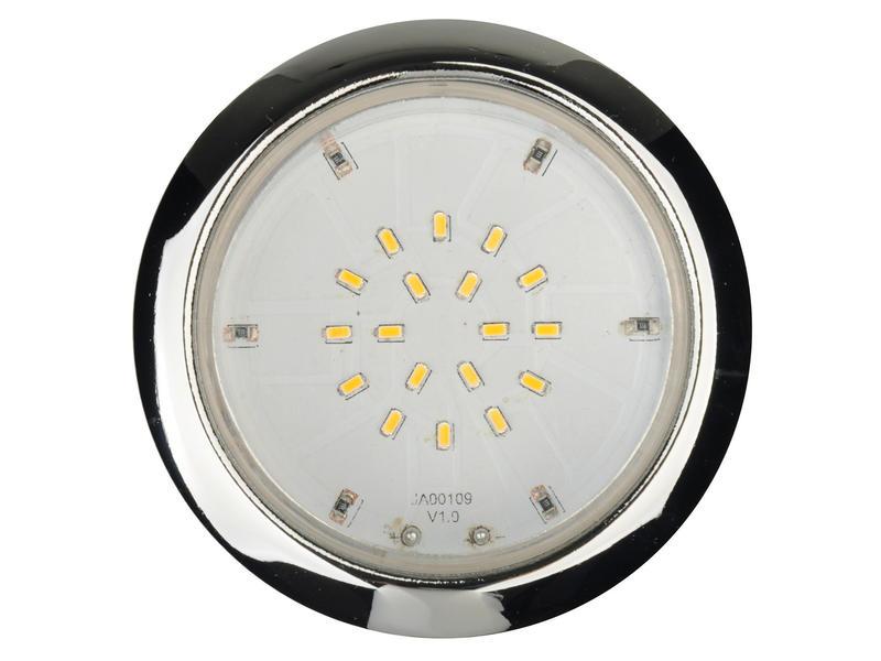 Jedi LED inbouwspot 2W chroom 3 stuks