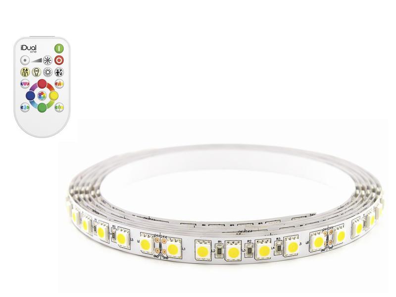 iDual LED strip uitbreiding 180lm/m + afstandsbediening