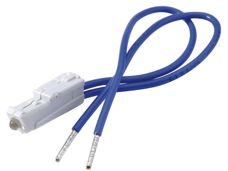 Niko LED verlichtingseenheid 0,2W + draden blauw
