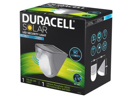 Duracell LED wandlicht solar met sensor