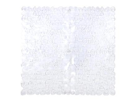 Lapis antislip douchemat 54x54 cm transparant