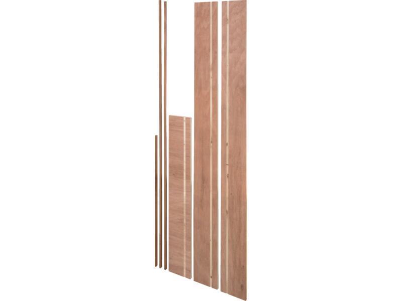 Lauan deurkassement 18x190 mm 213cm hardhout