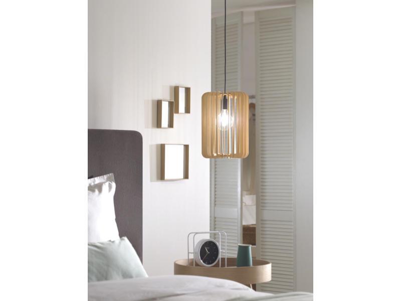 MEO Lecce hanglamp E27 40W hout