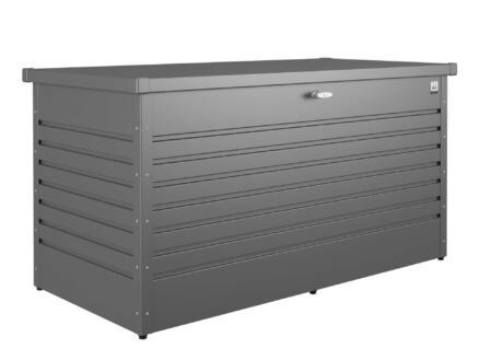 Biohort LeisureTime Box 100 kussenbox 101x46x61 cm donkergrijs metallic