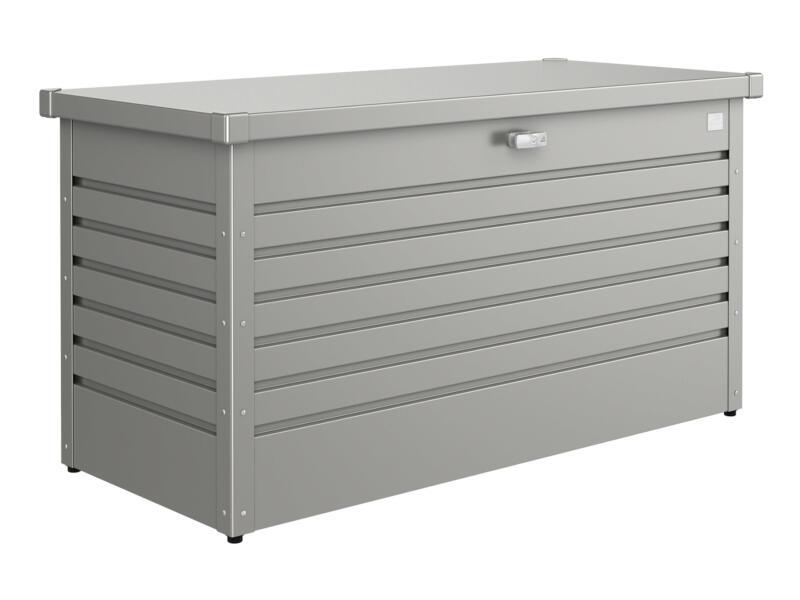Biohort LeisureTime Box 130 coffre de jardin 134x62x71 cm gris quartz métallique