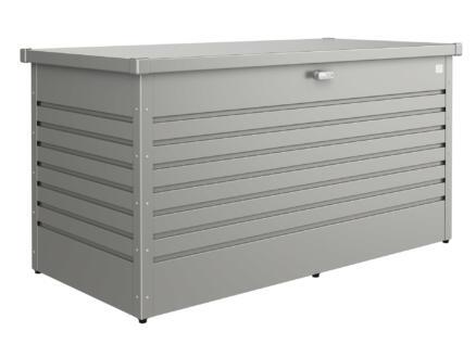 Biohort LeisureTime Box 160 coffre de jardin 159x79x83 cm gris quartz métallique