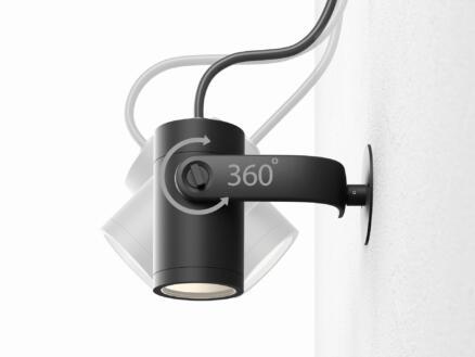 Hue Lily spot LED extérieur à poser 3x8 W noir