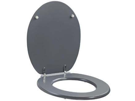Allibert Line WC-bril grijs