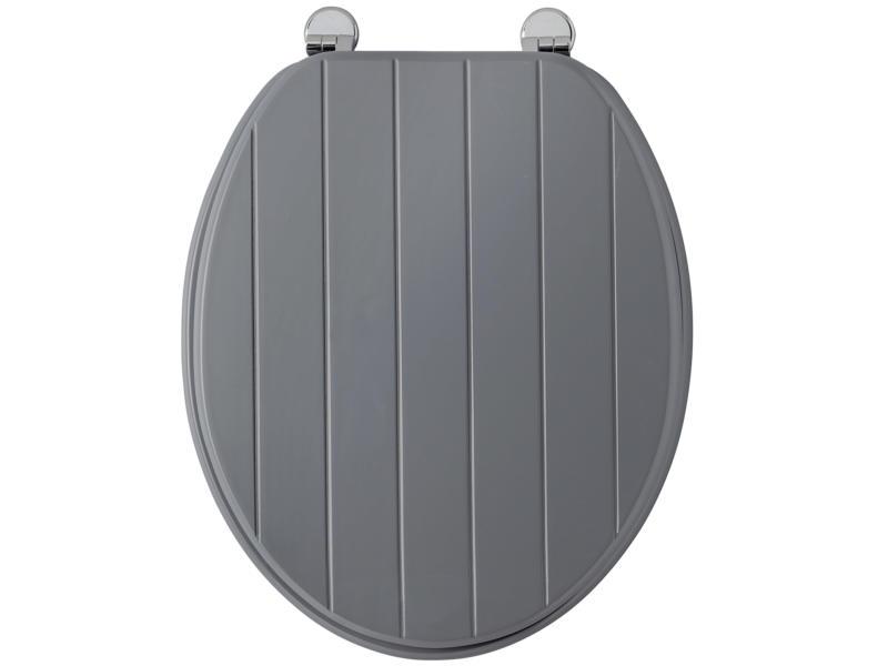Allibert Line abattant WC gris