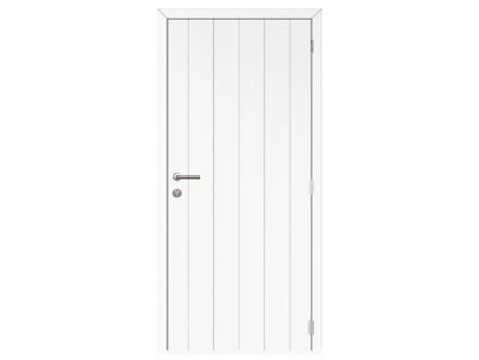 Solid Linee Country binnendeur 201x73 cm wit