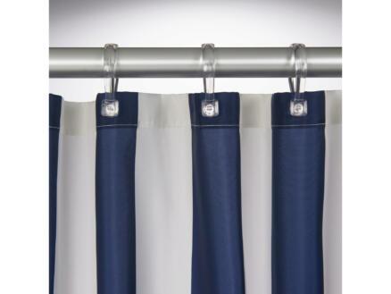 Sealskin Linje rideau de douche 180x200 cm bleu