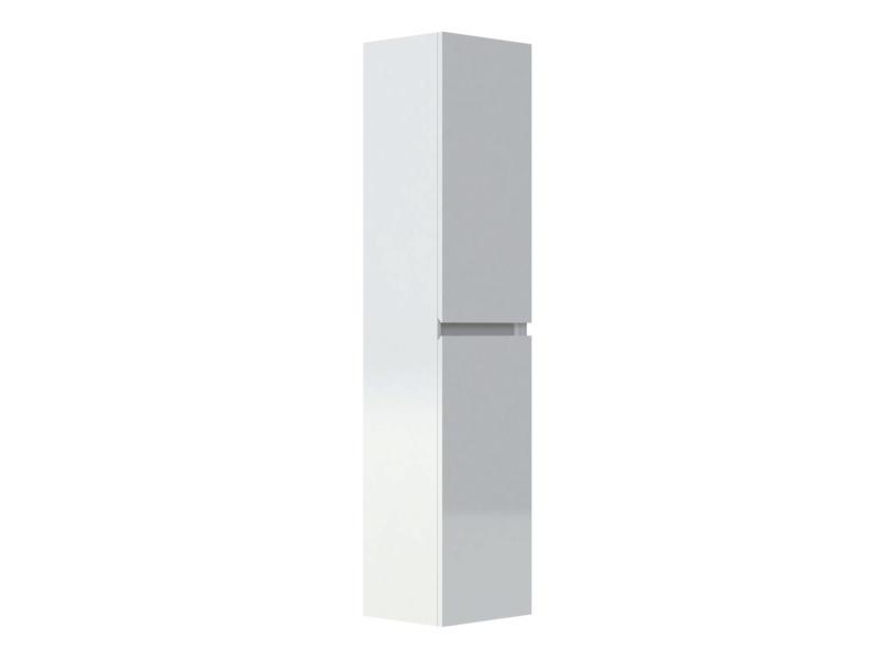 Allibert Livo kolomkast 40cm 2 deuren glanzend wit