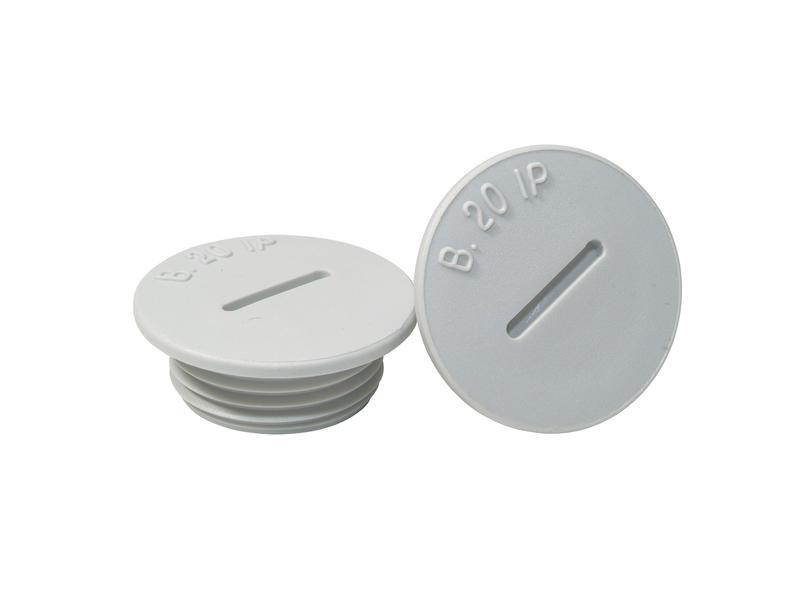 M20 bouchon polystyrène 2 pièces
