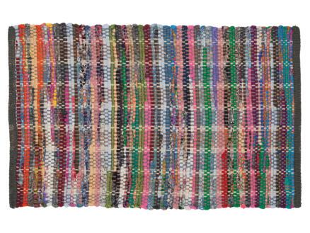 Sealskin Madras tapis de bain 90x60 cm multicolore
