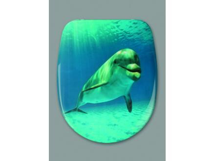 Malibu Beach Dolphin WC-bril