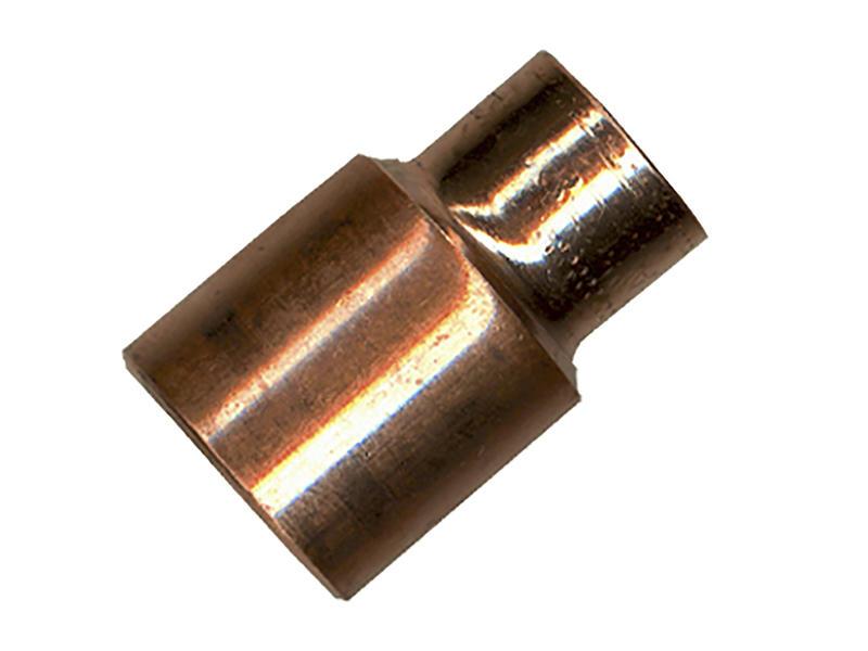 Saninstal Manchon réduit M 28mm x F 22mm cuivre