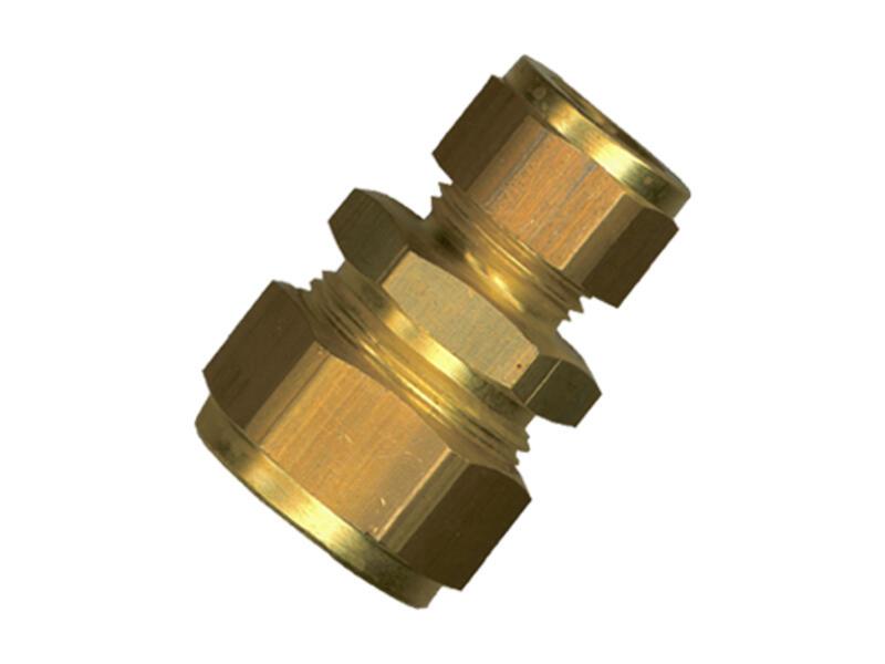 Saninstal Manchon réduit bicône 15x12 mm laiton