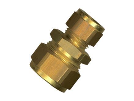 Saninstal Manchon réduit bicône 22x15 mm laiton