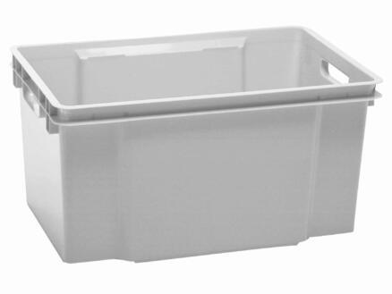 Keter Maxi Crownest bac de rangement 50l gris granit