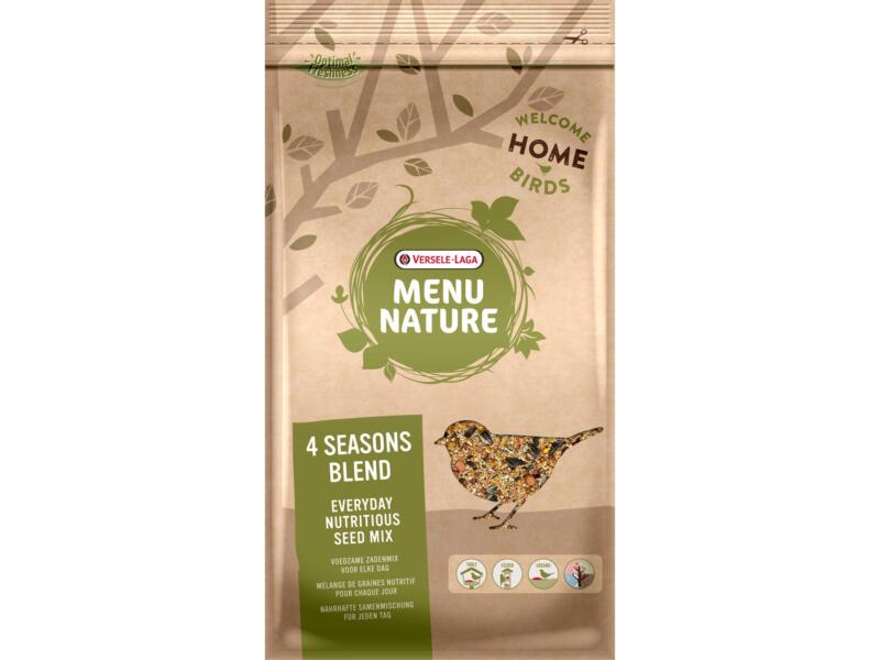 Menu Nature 4 Seasons Blend zadenmengeling 4kg