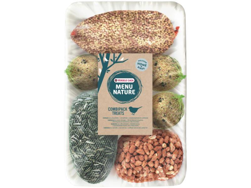 Menu Nature Combipack Treats nourriture oiseaux de la nature 1kg 8 pièces