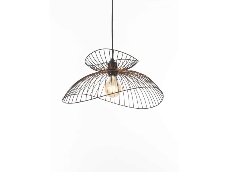 MEO Merano hanglamp E27 40W zwart