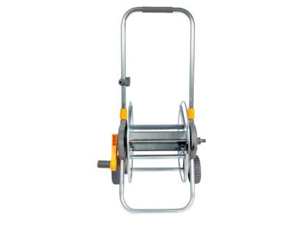 Hozelock Metal Cart dévidoir sur roues pour tuyau d'arrosage 60m
