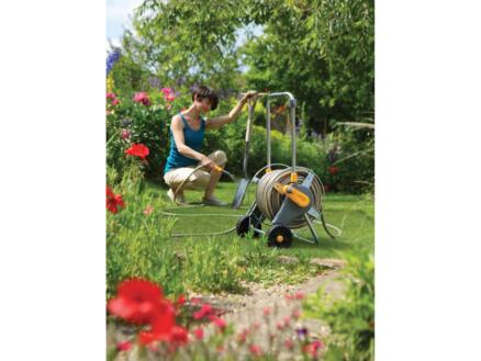 Hozelock Metal Cart slangenwagen voor tuinslang 60m