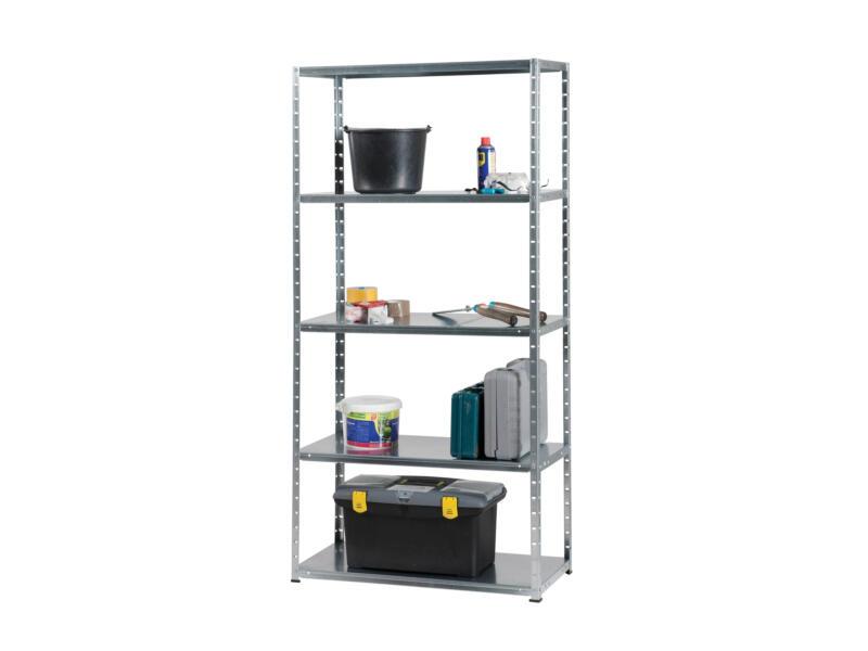 Practo Home Metalrack opbergrek 180x90x40 cm metaal