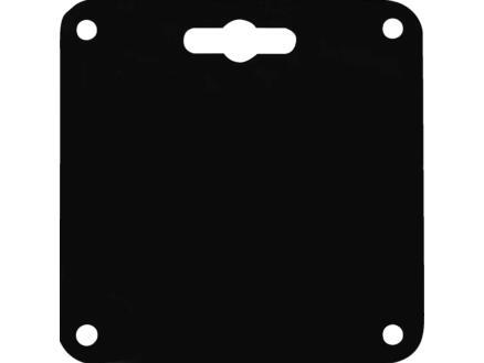 Meubelpoot 90x90 mm 72cm grenen