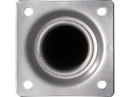 Meubelpoot rond 30mm 75cm aluminium