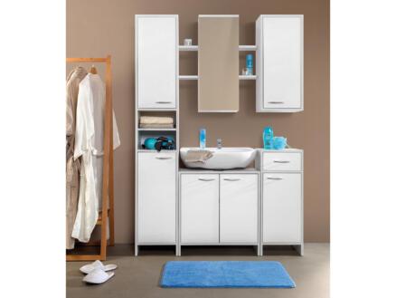 Practo Home Meuble lavabo 31,5cm blanc