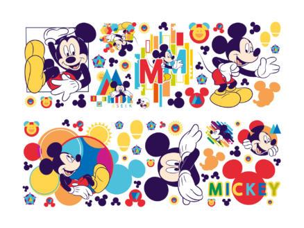 Disney Mickey Mouse muurstickers meerkleurig
